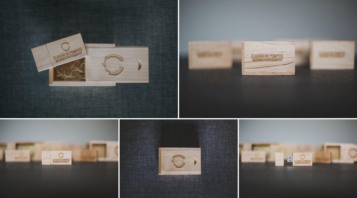 USB WEDDING WOOD